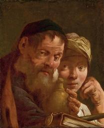 Le maître et son élève