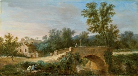Pont en pierre dans un paysage