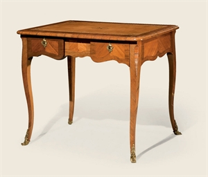TABLE A ECRIRE D'EPOQUE REGENC