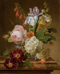Bouquet de fleurs dans un vase
