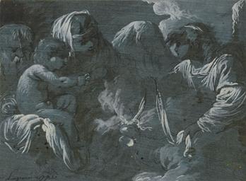 La Vierge et l'enfant avec Jos