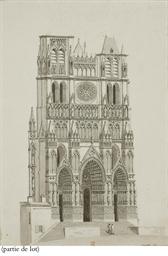 Façade de la cathédrale d'Amie