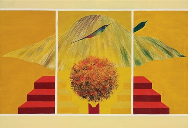 Untitled (Bird, Tree and Mount