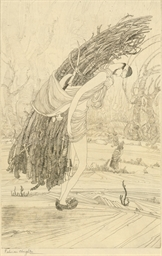 Untitled (Kashmiri Woodcutter)