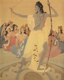 Arjuna as a Victor