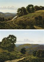 Botley Hill, Surrey; and The North Downs, near Woldingham
