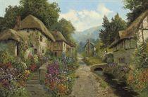 A village in Devon