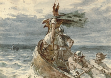 Vikings heading for land