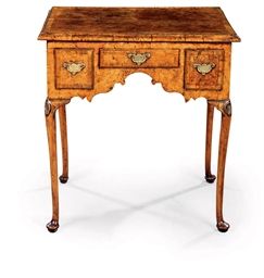 A GEORGE II BURR-ELM AND ASH D