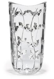 A TIFFANY GLASS VASE