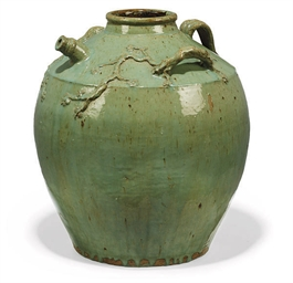 A SOUTH-EAST ASIAN GREEN GLAZE