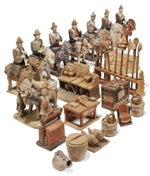 A COLLECTION OF CHINESE POTTER