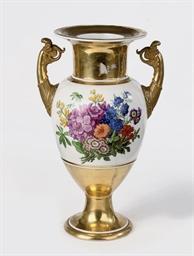 A Berlin KPM porcelain gold-gr