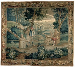 A LILLE TENIERS TAPESTRY