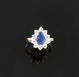 A colour change sapphire and d