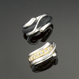 Two rings, by Georg Jensen