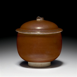 A RARE DING-TYPE RUSSET-GLAZED