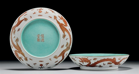 A PAIR OF FINELY ENAMELLED 'DR