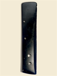 A BLACKISH JADE BLADE, DAO