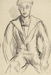 Paul Roche in a sailor suit; P