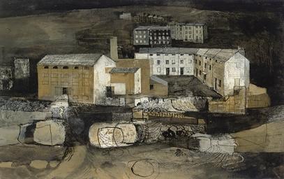 Industrial Landscape III, Mort
