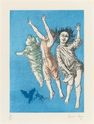 Flying Children, from Peter Pa