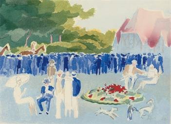 Deauville 1920 - Aquarelles de