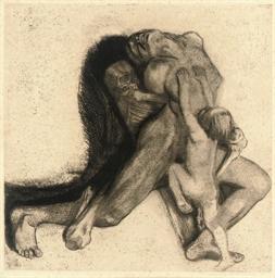 Tod und Frau (Klipstein 103)