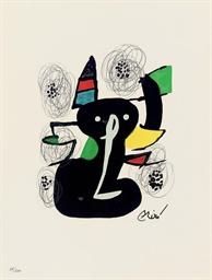 Joan Miro, La Mélodie Acide, P