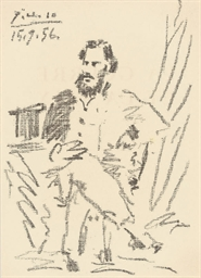Portrait of Léon Tolstoi, from