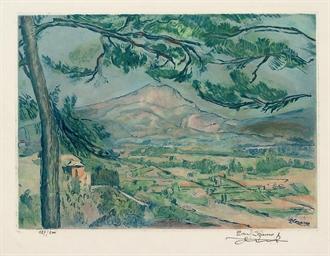 La Montagne Sainte-Victoire (G