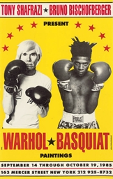 Poster for Warhol/Basquiat Pai