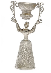 A GERMAN SILVER WAGER CUP IN T