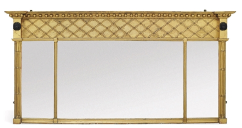 A GILTWOOD AND COMPOSITION TRI