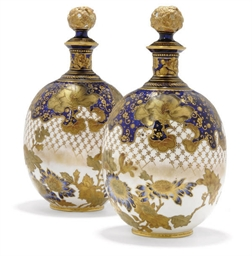 A PAIR OF ROYAL CROWN DERBY GL