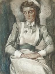 The pensive nurse