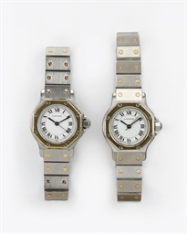 TWO LADY'S STAINLESS STEEL AND