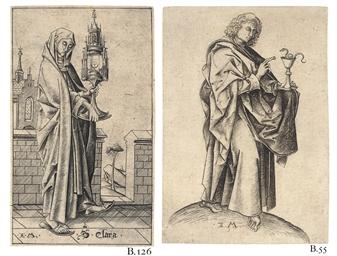 Saint Clara (B. 126; Geisberg