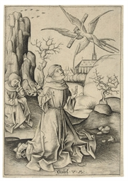 Saint Francis receiving the St