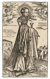 Saint Barbara (B. 69; Holl. 92