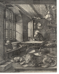 Saint Jerome in his Study (B.