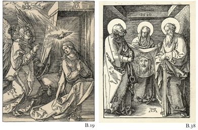 The Annunciation, from: The Sm