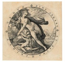 Venus and Cupid (B. 257; Holl.
