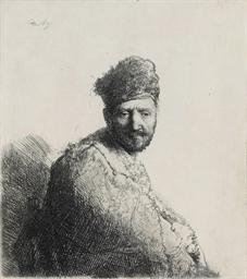 A Bearded Man, in a Furred Ori