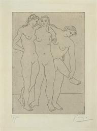 Les Trois Baigneuses III (B. 6