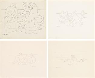 Quatre Lithographies (M. VIII-