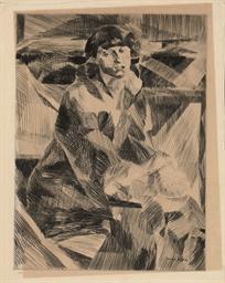 Portrait de Jeune Femme (Gines