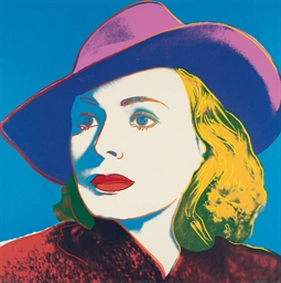 With Hat, from Ingrid Bergman