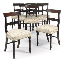 A SET OF EIGHT EARLY VICTORIAN