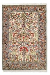 A Kashan carpet of Garden desi